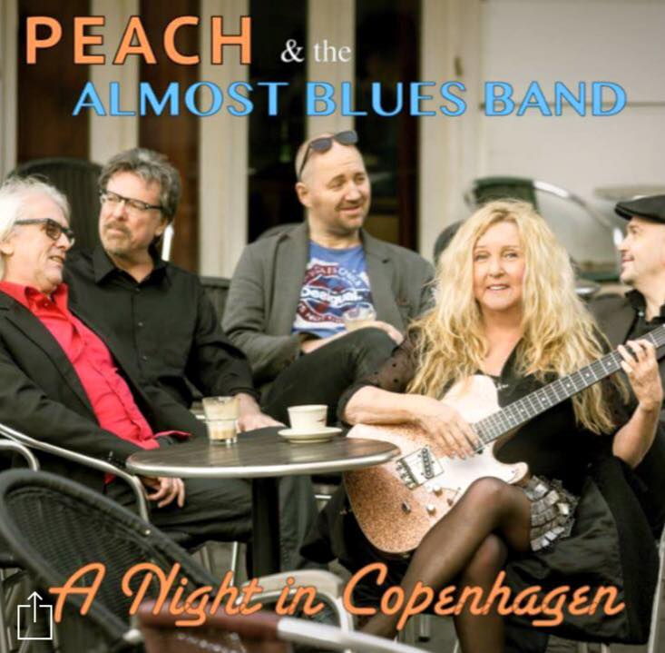 A Night in Copenhagen - CD by PEACH and the Almost Blues Band