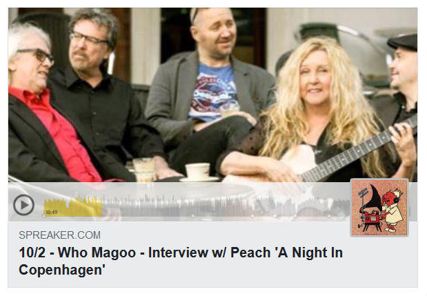 Who Magoo Music & Interview with PEACH - 03 OCT 2018