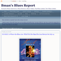 PEACH - Bman's Blues Report