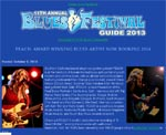 PEACH: Award Winning Blues Artist Now Booking 2014 - Blues Festival E-Guide