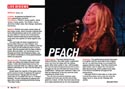 Music Connection Live Reviews PEACH at WitZend