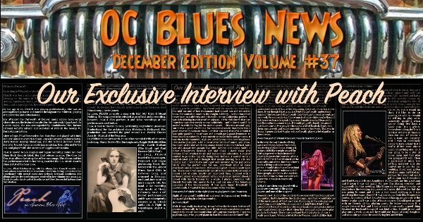 OC Blues News - Exclusive Interview with PEACH [PDF]